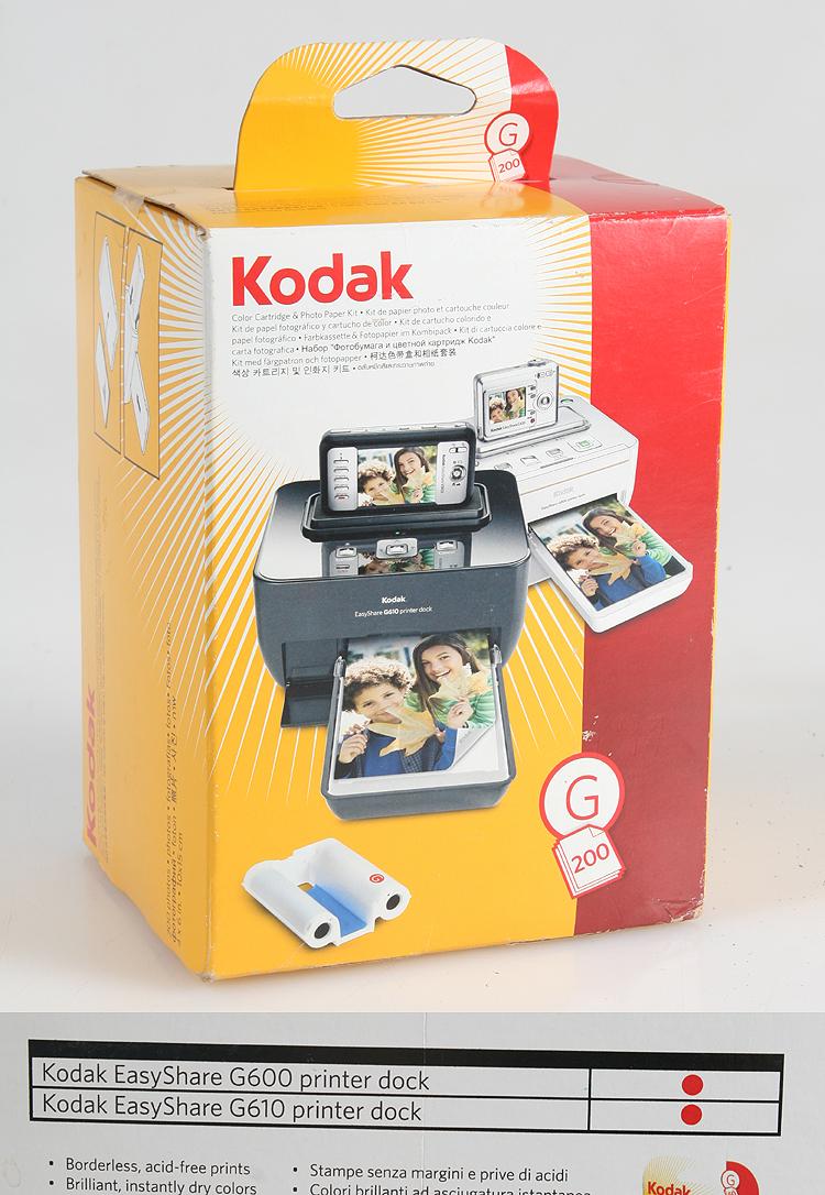 KODAK EASYSHARE G 200 COLOR CARTRIDGE NEW IN BOX